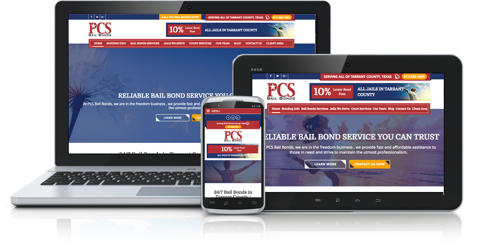 PCS Bail Bonds Site