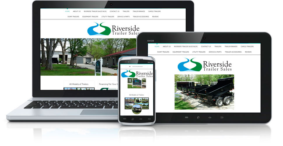 Riverside Trailer Sales Site