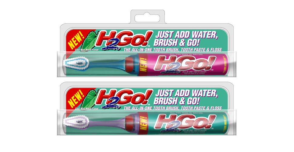 H2Go Portable Toothbrush