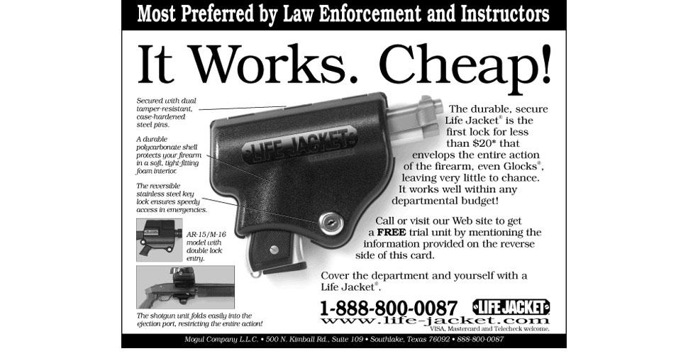 Life Jacket Gun Lock